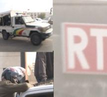 Affaire SonkoAdji Sarr, la RTS sécurisé par l'armé senegal et des nervis