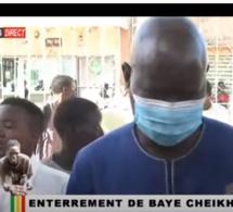 EN DIRECT: ENTERREMENT DE BAYE CHEIKH DIOP LE MECANICIEN TUE PAR BALLE A YEUMBEUL