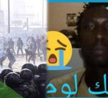 Malick Loum agressé et tué lors des manifestations, sa femme accouche le jour de son enterrement