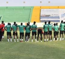 """Congo/ Sénégal: les """"Lions"""" ont effectué mardi leur première séance d'entraînement"""