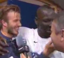 Insolite: Beckham s'adresse à Mamadou Sakho en Wolof »