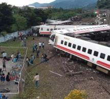 Taïwan: 48 morts dans le déraillement d'un train bondé