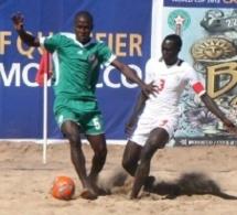 CAN Beach soccer: Les lions en demi-finale