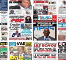 Actu-Kiosque : Les unes des quotidiens : Les révélations sur l'enquête des faux médicaments, le déconfinement de BBY, l'échec sur l'emploi des jeunes, Gana Gueye au Réal…