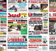 Actu-Kiosque : Les Unes des quotidiens : Les informations explosives sur le trafic de médicaments, en route vers les locales, crise économique, le football mondial secoué…