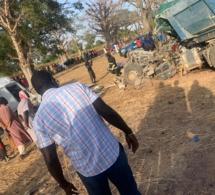Grave accident faisant 6 morts et plus de 30 blessés : les images du drame de Ndiongolor
