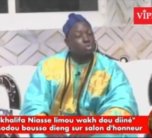 Serigne Modou Bousso Dieng corrige les propos de Ahmet khalifa Niasse dou diineu