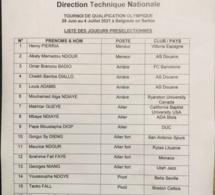 JO Tokyo: Liste des 16 « Lions » convoqués pour le tournoi qualificatif de Belgrade