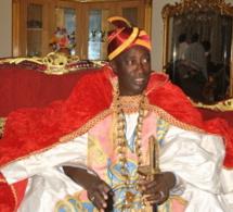 Serigne Modou Kara Mbacké au coté de Pape Hibrahima Diagne Bassirou
