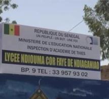 Lycée Ndioumacor Faye de Ndiaganiao: Les élèves prennent en otage des professeurs et l'administration