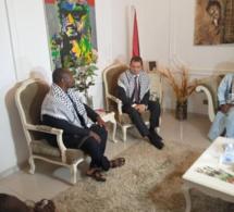 """Guy Marius Sagna à l'ambassadeur de la Palestine : """"Les États africains doivent élèver leurs voix contre cette oppression"""""""