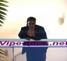 Marième faye Sall montre son balcon
