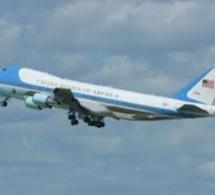 Le président Barack Obama a quitté le Sénégal pour l'Afrique du Sud