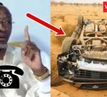 Urgent Mbaye Pékh sort ses premiers mots après l'accident de la voiture du cortège