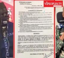 SA NDIOGOU WALF TV HUMULIE BOUGANE GUEYE DANY ET RÉAGIT APRÉS LA RADIATION DU CAPITAINE  TOURÉ