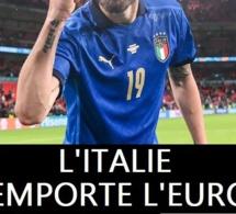 Euro 2020: L'Italie l'emporte aux tirs au but face à l'Angleterre
