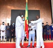 JO Tokyo 2020 : Remise du drapeau à la délégation des athlètes sénégalais