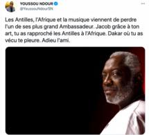 """Disparition du cofondateur du groupe musical """"Kassav"""": Une perte pour l'Afrique et la musique, témoigne Youssou Ndour"""