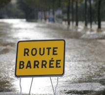 Fortes pluies au Fouta : à Kobilo-Bokidiawé, la route coupée