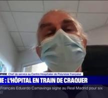 Face au Covid-19, le docteur Philippe Dupire raconte la situation très tendue au Centre hospitalier de Polynésie française