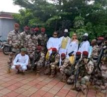 En images: Le nouvel homme fort de la Guinée en mode Jummah Mubarak