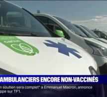 13% des ambulanciers ne sont pas encore vaccinés, à deux jours de l'échéance