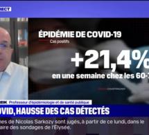Covid-19: faut-il s'inquiéter de la nouvelle hausse des cas en France ?
