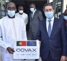 Covax : Le Sénégal reçoit un don du Portugal