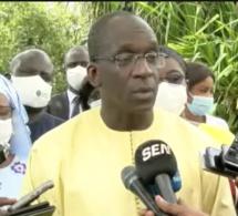 Baisse des cas de Covid-19, ce n'est pas la fin de l'épidémie dixit Abdoulaye Diouf Sarr ministre de la santé.