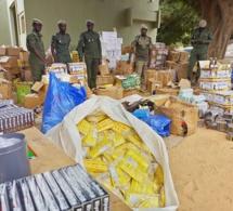 Foundiougne: De faux médicaments d'une valeur de 165 millions FCfa et 450 kg de chanvre indien, saisis