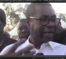 """Vidéo-Youssou Ndour à la foire aux problèmes de Y'en A Marre: """"On a un Président  qui a une force tranquille"""""""