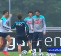 Video: Crstiano Ronaldo montre qu'il n'est plus blessé et danse la samba