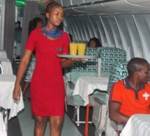 Green Plane : Un avion transformé en restaurant au Ghana