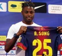 Alexandre Song quitte le Barça