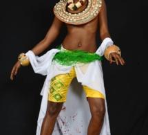 Le mannequin Awa Ndiaye a fond dans son art!