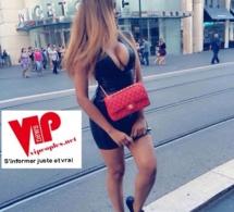 L'escorte girl Karina Tavarez expose sa belle poitrine.