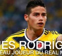 Transfert: James Rodriguez rejoint le Real Madrid pour 80 millions d'euros