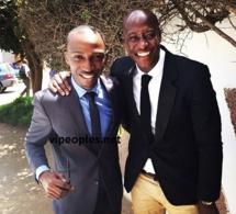 Mara Ndiaye de la LCS pose avec Fadiga