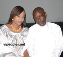 Maréme Sidibé toute heureuse avec son Limpé de mari