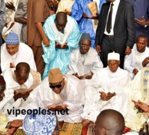 Wade a prié à Massalikoul Djinane