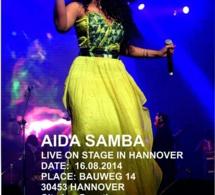 Exclusivité: Aida Samb en live ce 16 août en Allmengne