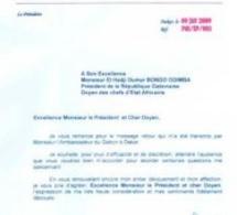 SOUPCONS DE BLANCHIMENT: Voici les deux lettres que Macky avait adressées à Bongo