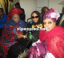 Les trois mousquetaires du PDS: Woré Sarr, Aida Ndiongue et Awa Diop.