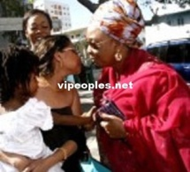 Aida Coulibaly chez sa belle mére Ndeye Sokhna Mboup