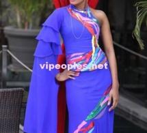 Ndeye Ndack trés classe dans une tenue de Nabou Création