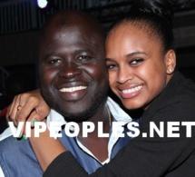 """Mari Louise Diaw en toute complicité avec son """"Papa"""" Daouda Mbow"""