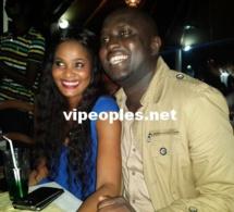 Dj Bouba de la 2STV semble heureux dans les bras de Soumboulou MBathily