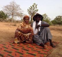 """Images:Tournage du clip """"Dakar-Thiès"""" du duo de choc Salam Diallo-Dame Sène"""