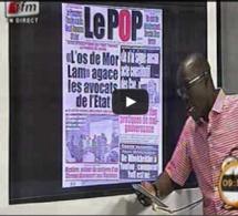 Vidéo: Revue de presse du 26 aout 2014 avec Mamadou Mouhamed Ndiaye Regardez