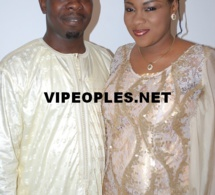 Abdoul Ndiaye de la 2STV en compagnie de sa femme